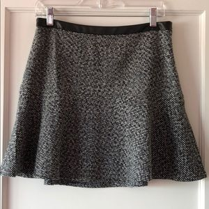 Nordstrom hinge brand tweed mini skirt